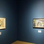Vasili Kandinsky, Vuurvogel, 1916, Ruiter, Sint-Joris, 1914-1915, Groninger Museum, Russische sprookjes, volksverhalen en legenden. (foto Marten de Leeuw)