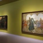 Viktor Vasnetsov, De drie Tsarendochters, 1884, De kikvorsprinses, 1901-1918, Groninger Museum, Russische sprookjes, volksverhalen en legenden. (foto Marten de Leeuw)